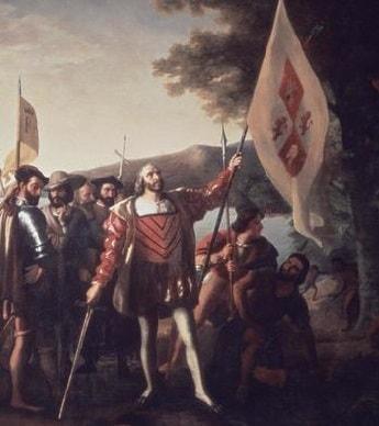 Italian Explorer Christopher Columbus