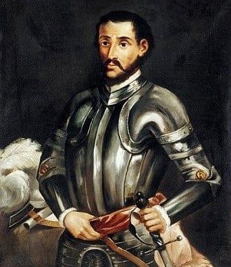 Painting of Hernando de Soto