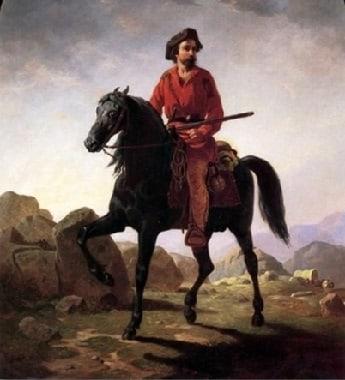 American frontier explorer Christopher Kit Carson