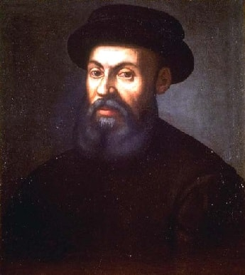 Portuguese explorer Ferdinand Magellan