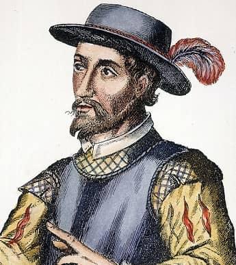 Spanish explorer Juan Ponce de Leon