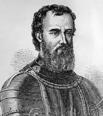 Italian explorer Giovanni da Verrazzano