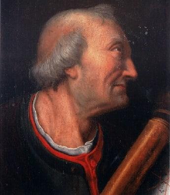 Italian Explorer Amerigo Vespucci